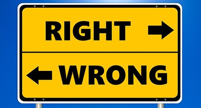 Why being wrong can be a good thing