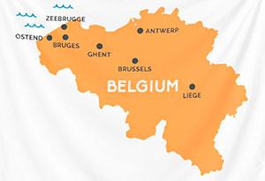 How to find Bruges or Brugge