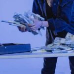 money stealing theft briefcase